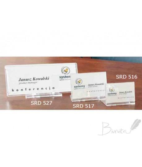 Vardinė kortelė pastatoma SRD 516 80 x 57 mm