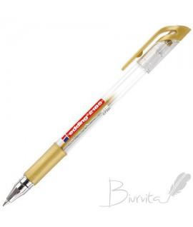 Gelinis rašiklis EDDING GEL ROLLER 2185, 0,7 mm, auksinė