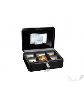 Dėžutė pinigams WEDO, 250 x 180 x 90 mm, juoda