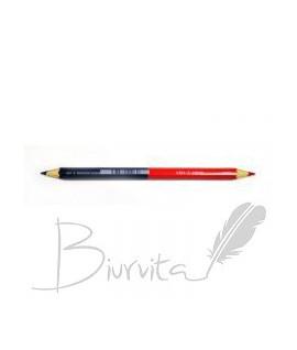 Pieštukas KOH-I-NOOR JUMBO, dvipusis-mėlynas, raudonas