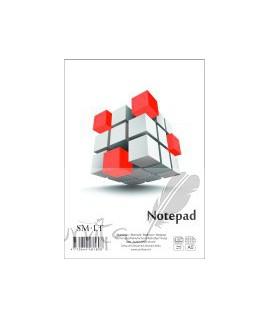Bloknotas klijuotas Smiltainis A5, 50 lapų, langeliais