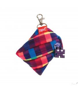 Pakabukas - piniginė ZIPIT Pixel Mini Pouch violetinis
