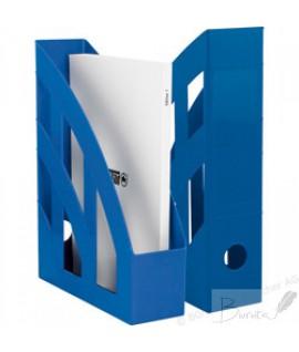 Stovas dokumentams vertikalus HERLITZ, mėlynas