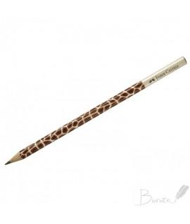 Pieštukas FABER CASTELL, Žirafa, HB, be trintuko