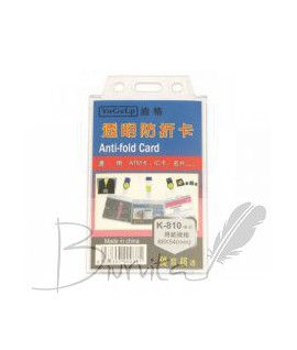 Vardinė kortelė K-810, vertikali,54 x 88 mm