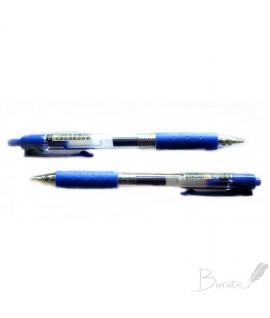Automatinis gelinis rašiklis AIHAO AH-489, 0,5 mm, mėlynas