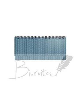 Darbo kalendorius FORUM 2020, 295 x 135 mm, metalo mėlynas