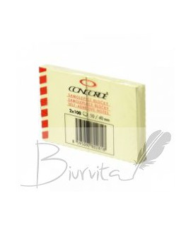 Lipnūs lapeliai CONCORDE 40 x 50 mm, 2 vnt. po 100 lapelių