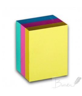 Lipnūs spalvoti lapeliai CONCORDE 38 x 51 mm, 3vnt. po 100 lapelių