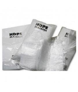 Pakavimo maišeliai 14/4 x 35 cm, 8 mikr. 1000 vnt. 0,86 kg