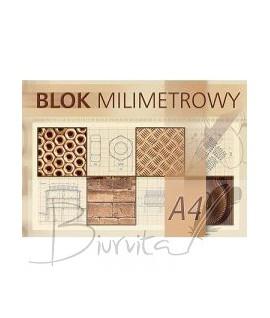 Milimetrinis popierius KRESKA , A4, 20 lapų