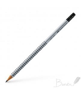 Pieštukas FABER CASTELL GRIP 2001, B, su trintuku