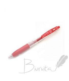 Automatinis gelinis rašiklis ZEBRA SARASA CLIP 0,5 mm, raudona