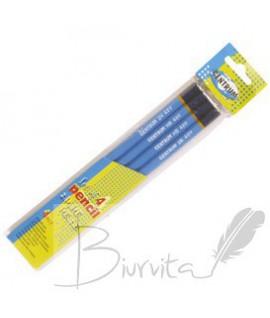 Pieštukų rinkinys CENTRUM, 4 vnt. 2H, 2B, 2HB