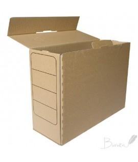 Archyvine dėžė SMLT, 243 x 120 x 320 mm, ruda