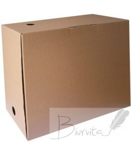 Archyvine dėžė SMLT, 300 x 160 x 350 mm, ruda