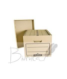 Archyvine dėžė FELLOWE su dangčiu , 260 x 415 x 325 mm,ruda