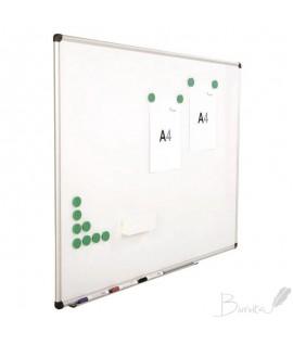 Baltoji magnetinė lenta ROCADA,120 x 200 cm,aliuminio rėmas, emaliuotas paviršius