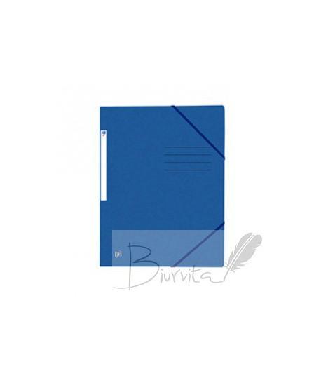 Dėklas dokumentams su gumele ELBA OXFORD, A4, kartoninis