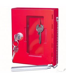 Dėžutė avariniam raktui WEDO,raudona sp.