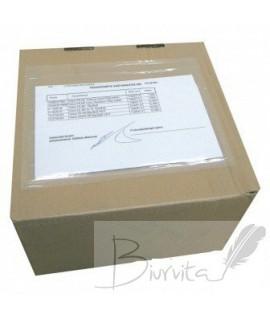Priklijuojamosios įmautės siuntiniams C5 240 mm x 165 mm +15 mm,1000 vnt.