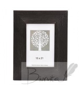 Rėmelis SAVEX Bravo, medinis 15 x 21 cm, tamsiai ruda sp.