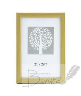 Rėmelis SAVEX Aura, plastikinis, A4, 21 x 29,7 cm, medžio sp.