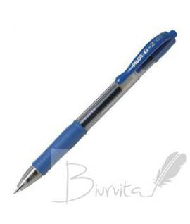 Gelinis rašiklis PILOT G-2, 0,7 mm, mėlynas