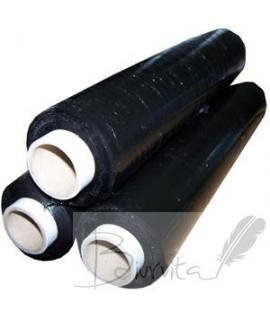 Pakavimo plėvelė 450 mm, 270 m, 17 mikr., juoda