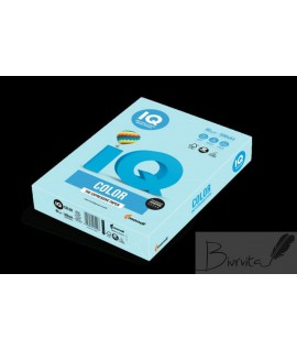 Biuro popierius IQ, MB A4, 80 g. 500 lapų, šviesiai mėlyna sp.sp.