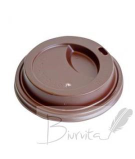 Dangteliai popieriniams puodeliams 300 mm, ruda sp. 100 vnt.