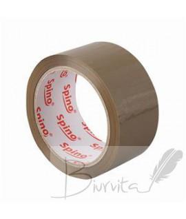 Pakavimo juosta SPINO 48 mm x 66 m, ruda sp. Acrylic