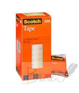 Lipni juosta Scotch 508 19 mm x 33 m, skaidri, 1 vnt.