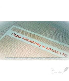 Milimetrinis popierius KRESKA, A2 , 1 lapas