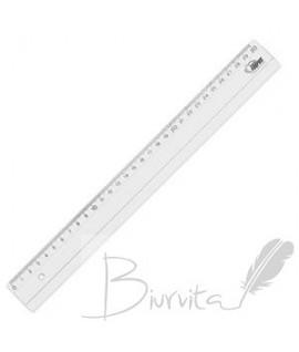 Liniuotė Forpus plastikinė , skaidri, 30 cm