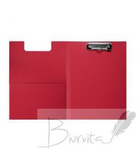 Lentelė rašymui su atvartu FOROFIS, A4, raudona