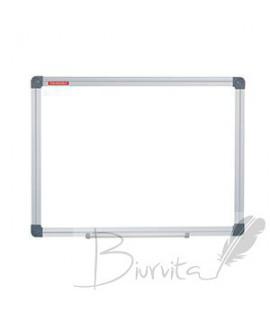Baltoji magnetinė lenta MEMOBOARDS CLASSIC 150 x 100 cm, aliuminio rėmas