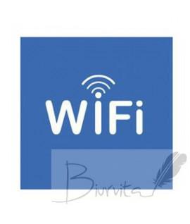"Lipnus ženklas APLI ,114 x 114 mm, ""WiFi"""