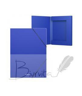 Aplankas - dėžutė su gumele ErichKrause, A4. 30 mm, mėlyna