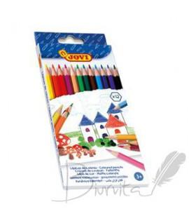 Spalvoti pieštukai JOVI, 24 spalvos