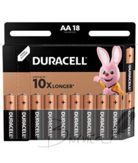 Baterijos DURACELL AA LR6 18vnt.