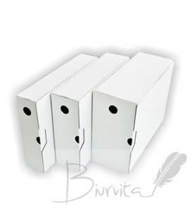 Archyvinė dėžė SMLT, A4, 238 x 120 x 320 mm balta