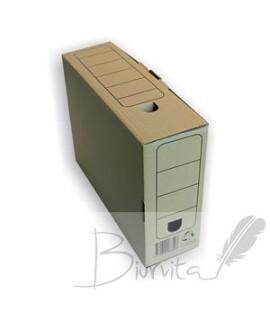 Archyvinė dėžė SMLT, A4, 250 x 85x 335 mm , ruda