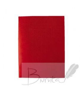Kartoninis dėklas dokumentams SMLT, 318 x 240 mm, raudona