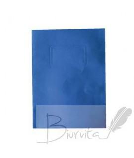 Kartoninis dėklas dokumentams SMLT, 318 x 240 mm, mėlyna