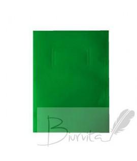 Kartoninis dėklas dokumentams SMLT, 318 x 240 mm, žalia
