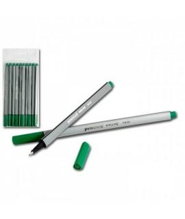 Rašiklis 0,4 mm., žalias