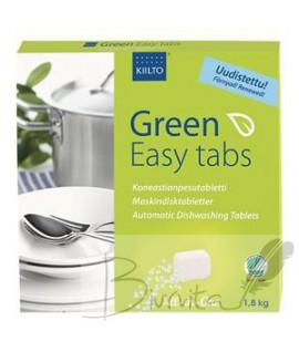 Tabletės indaplovėms KIILTO Green Easy, 100 vnt.