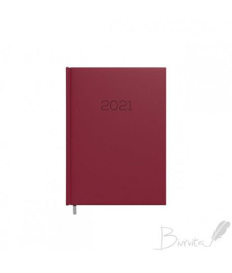 Darbo kalendorius DAYTIME BALADEK 2021, PVC, A5, vyšninė