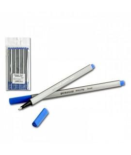 Rašiklis 0,4mm., mėlynas